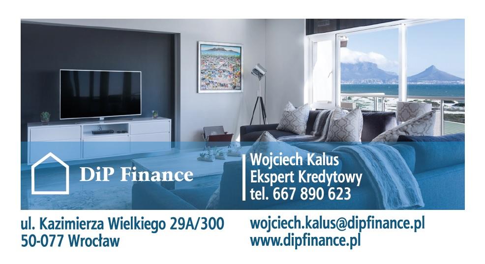 DiP Finance Wojciech Kalus - wizytówka